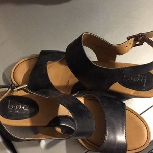 Born short heel sandals